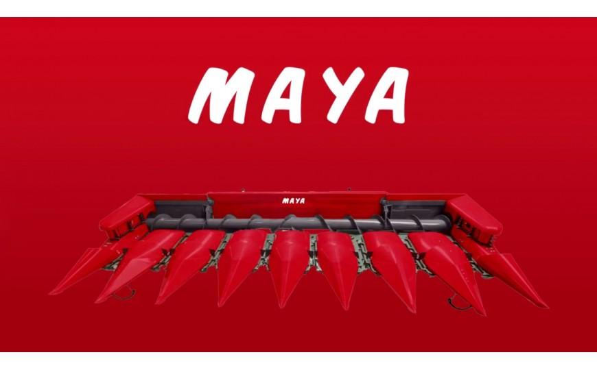 Przystawka Maya 12-rzędowa i 8-rzędowa w duecie
